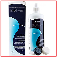 Раствор для линз BioTwin (Био Твин) с гиалуроновой кислотой 360ml OkVision (Финляндия), фото 1