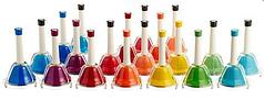 Ручные колокольчики 20 штук в наборе MAXTONE BLA-20C/N Hand Bell Deluxe Set