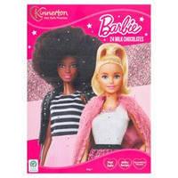 Адвент календарь Kinnerton Barbie Advent Calendar 40g