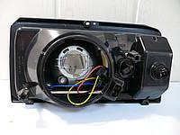 Фара ВАЗ 2104, 2105, 2107 правая желтая с указателем поворота (пр-во ОСВАР), фото 1