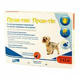 Prac-tic (Прак-тик) капли для собак весом от 2-4,5 кг, фото 2