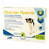 Prac-tic (Прак-тик) капли для собак весом от 4-11 кг, фото 2