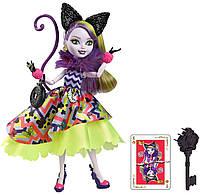 Кукла Эвер Афтер хай Китти Чешир Дорога в страну чудес С подставкой Kitty Chesire Way Too Wonderland