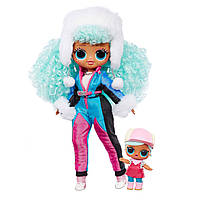 Кукла ЛОЛ ОМГ Ледяная Леди Оригинал L.O.L. Surprise! OMG Winter Chill Icy Gurl Fashion Doll