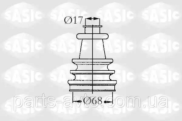 Комплект пылника, приводной вал PEUGEOT 104 1.0 SASIC 2933403