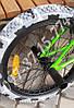 ✅ BMX Велосипед Shark Bike - 2004 Салатовый с Серыми покрышками, фото 8