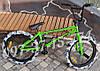 ✅ BMX Велосипед Shark Bike - 2004 Салатовый с Серыми покрышками, фото 7