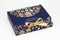 """Коробка """"Стильная"""" М0039-о18 """"Рождественский пряник"""", размер: 250*200*50 мм, фото 1"""