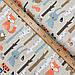 """Польская хлопковая ткань """"Лисички, мишки в лесу на бежевом"""", фото 2"""