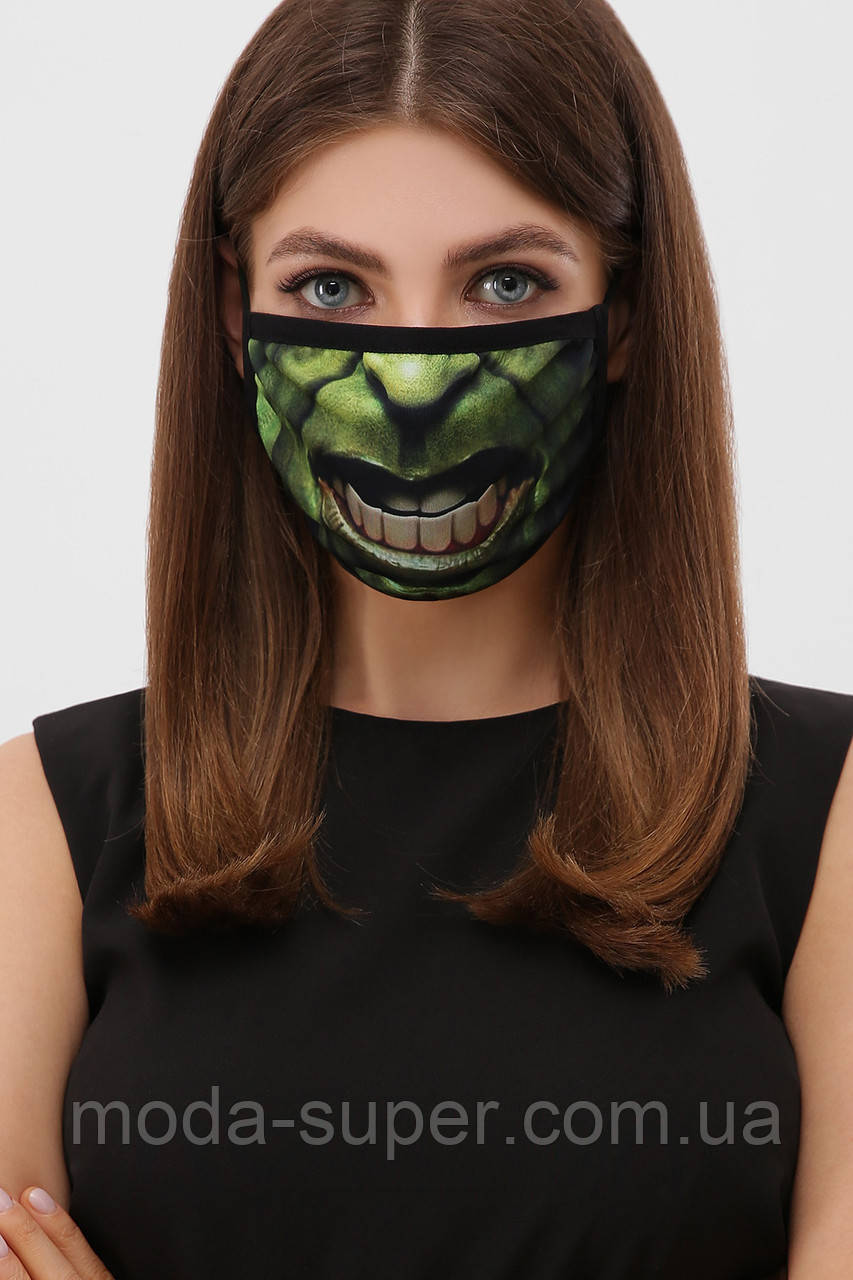 Тканевая маска двухслойная