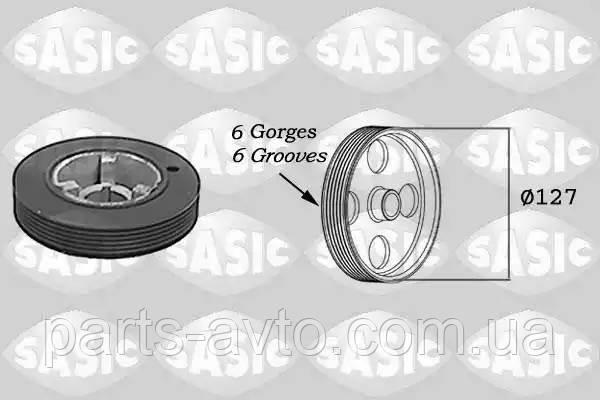 Ременный шкив, коленчатый вал CITROEN EVASION (22, U6) 1.8 SASIC 5150H60