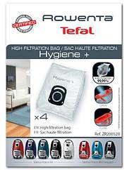 Набор мешков Hygiene+ (4шт) для пылесоса Rowenta ZR200520