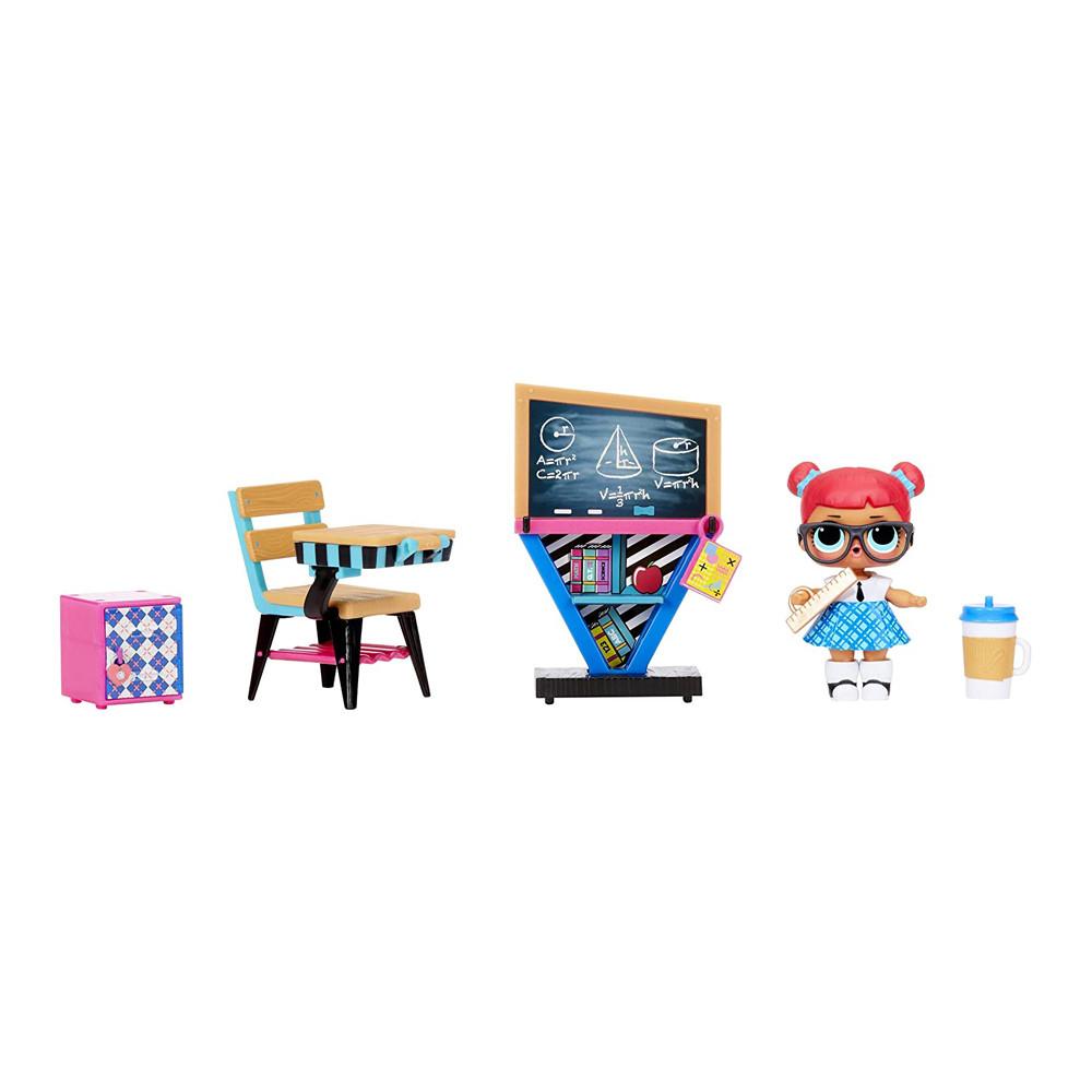 Кукла L.O.L. Surprise Furniture S2 Класс Умницы MGA Оригинал