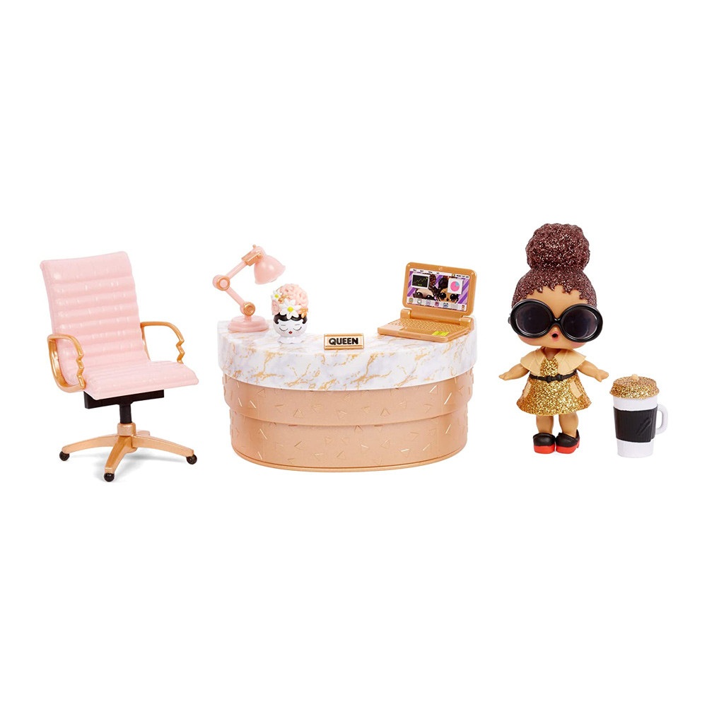 Кукла L.O.L. Surprise Furniture S2 Леди Босс MGA Оригинал