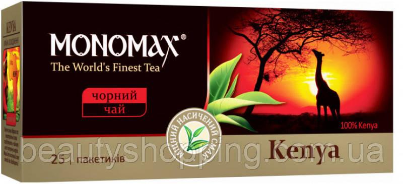 Мономах Kenya черный чай 25 пакетов