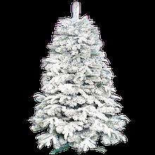 Новогодняя Искусственная Елка «Натуральная белая» 1.2 м | 80 см.