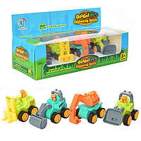 Стройтехника детская игрушка .Стройтехника инерционная игрушечная. Игрушки для малышей.