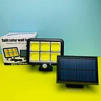 Уличный COB светильник на солнечной батарее датчик на движение BL-LF-1723, фото 1
