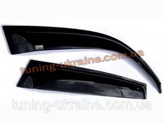 Дефлекторы окон (ветровики) темные SIM на  Chevrolet TRAILBLAZER (02-12)