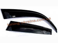 Дефлекторы окон (ветровики) темные SIM на  Chevrolet TRAILBLAZER (02-12), фото 1