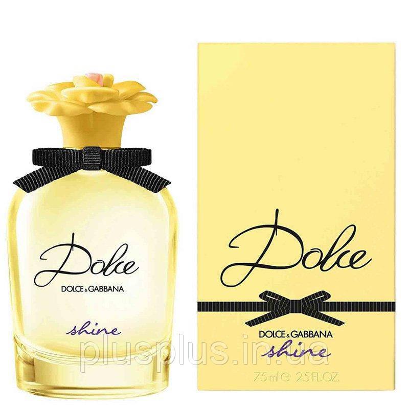 Парфюмированная вода DolceANDGabbana Dolce Shine для женщин  - edp 75 ml