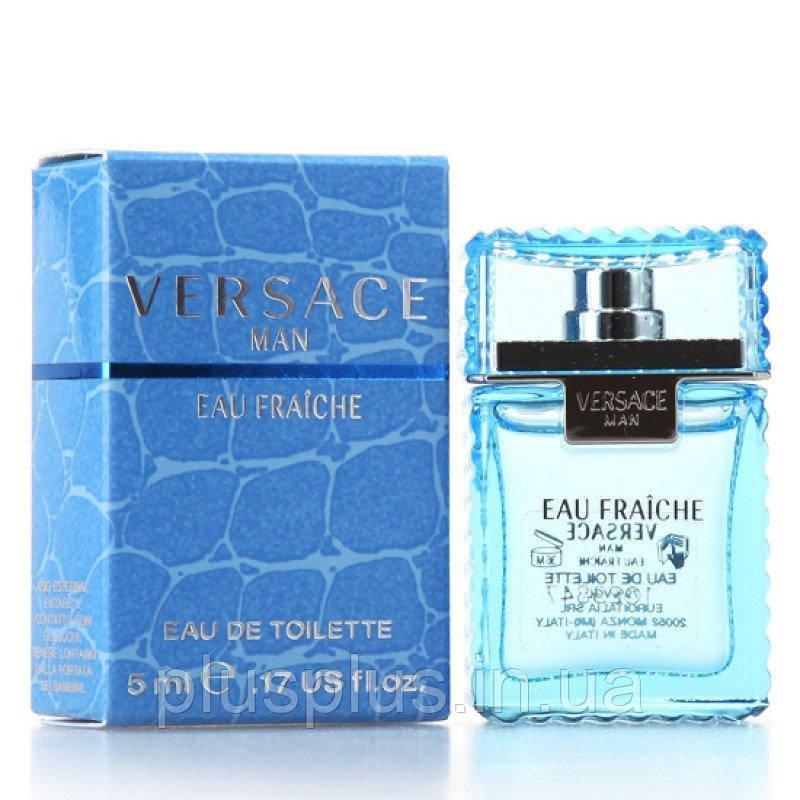 Туалетная вода Versace Man Eau Fraiche для мужчин  - edt 5 ml mini