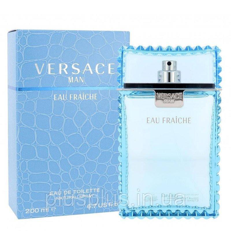 Туалетная вода Versace Man Eau Fraiche для мужчин  - edt 200 ml