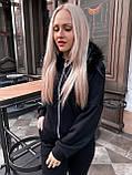 Женский костюм теплый черный, фото 3