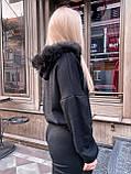 Женский костюм теплый черный, фото 2
