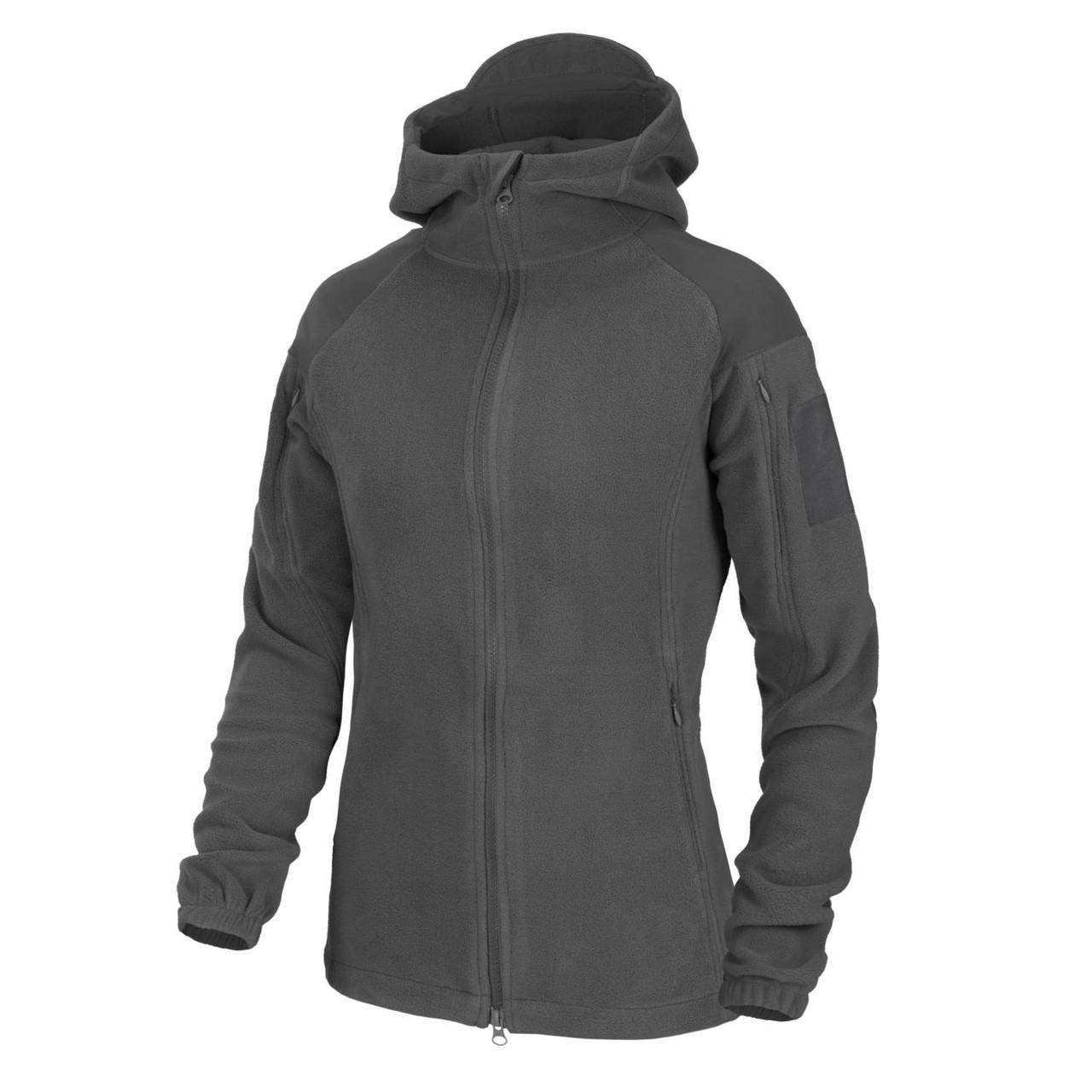 Куртка женская флисовая Helikon-Tex® Womens CUMULUS® Jacket - Heavy Fleece - Shadow Grey