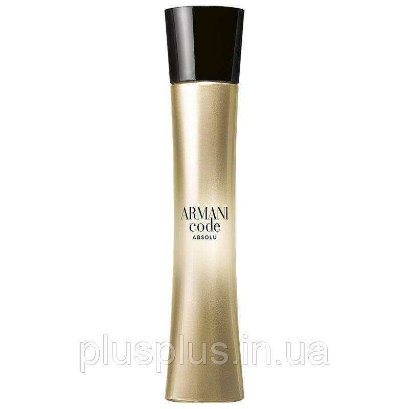 Парфюмированная вода Giorgio Armani Code Absolu Femme для женщин  - edp 75 ml tester