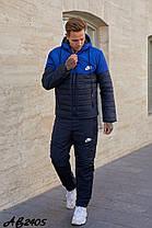 Мужской спортивный костюм из плащёвки утеплённый синтепоном и овчиной с 46 по 54 размер, фото 2