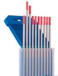 Вольфрамовий електрод WT-20 D 2.0 мм (червоний)