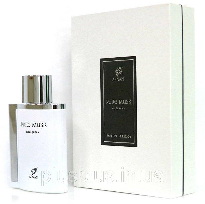 Парфюмированная вода Afnan Pure Musk для мужчин и женщин  - edp 100 ml
