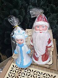 Игрушки Дед Мороз и Снегурочка под елку КОМПЛЕКТ 32 см