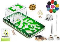"""Комплект Муравьиная Ферма Smart """"Амазонка"""" + колония муравьев, корм, аксессуары и декор (18х10х7 см)"""