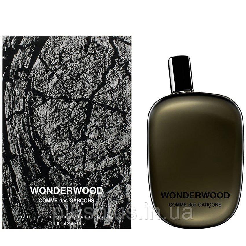Парфюмированная вода Comme des Garcons Wonderwood для мужчин и женщин  - edp 100 ml