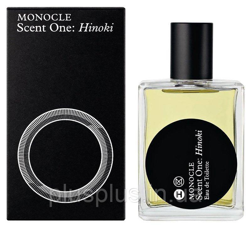 Туалетная вода Comme des Garcons Monocle Scent One: Hinoki для мужчин и женщин  - edt 50 ml