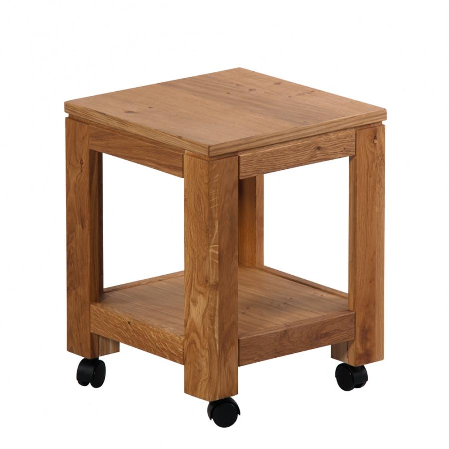 Стол придиванный из дерева 029