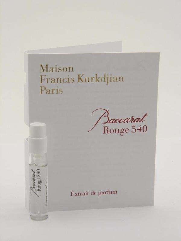 Духи  Baccarat Rouge 540 для мужчин и женщин  - parfum 2 ml vial