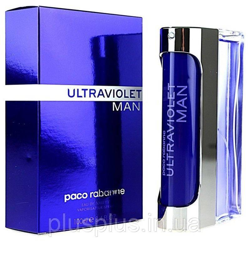Туалетная вода Paco Rabanne Ultraviolet Man для мужчин  - edt 100 ml