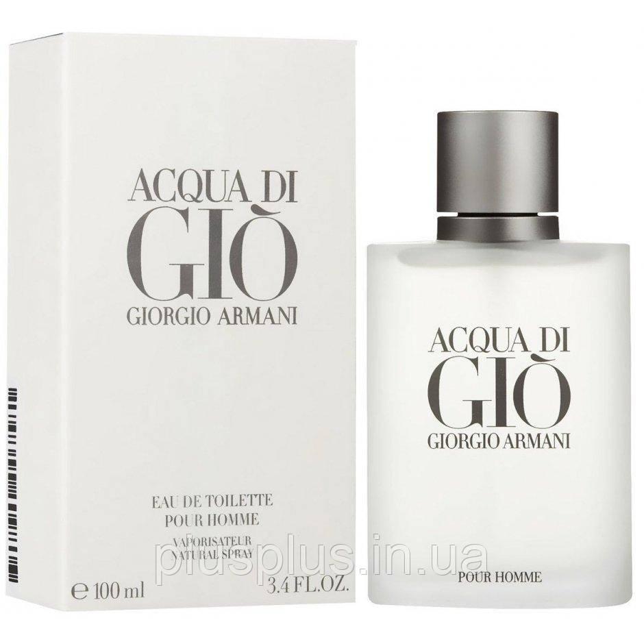 Туалетная вода Giorgio Armani  di Gio Pour Homme для мужчин  - edt 100 ml