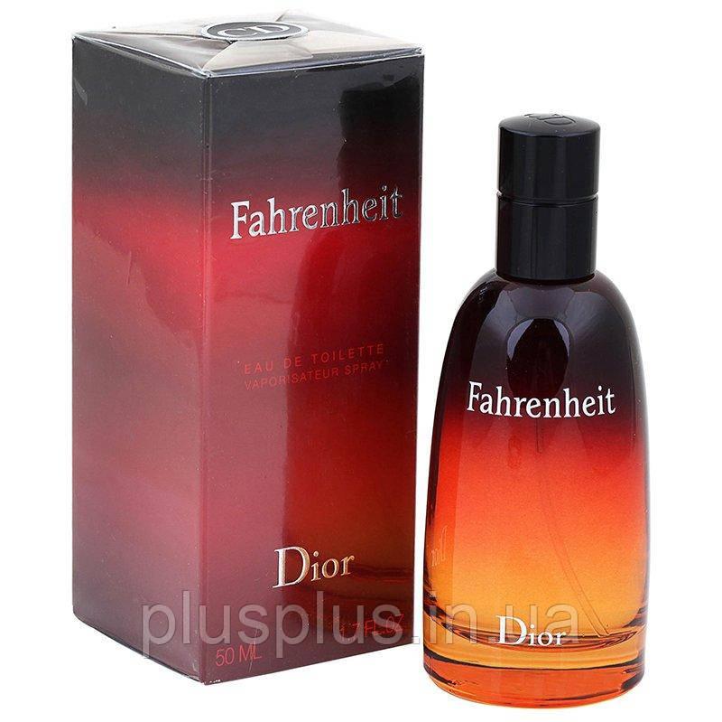 Туалетная вода  Fahrenheit для мужчин  - edt 50 ml