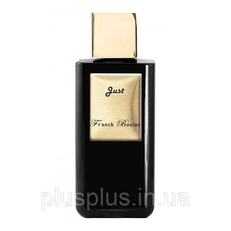 Духи Franck Boclet Just для мужчин  - parfum 100 ml tester