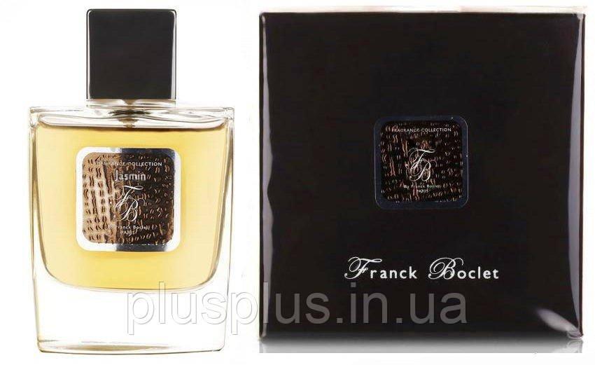 Парфюмированная вода Franck Boclet Jasmin для мужчин и женщин  - edp 100 ml