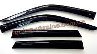 Дефлекторы окон (ветровики) Cobra Tuning на Chevrolet TRAILBLAZER (02-12)