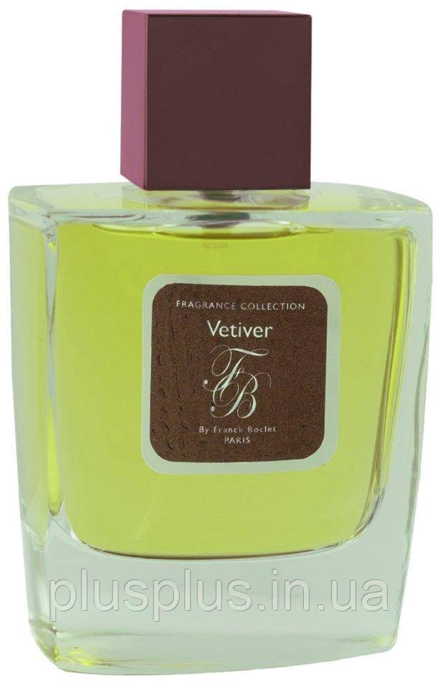 Парфюмированная вода Franck Boclet Vetiver для мужчин и женщин  - edp 100 ml
