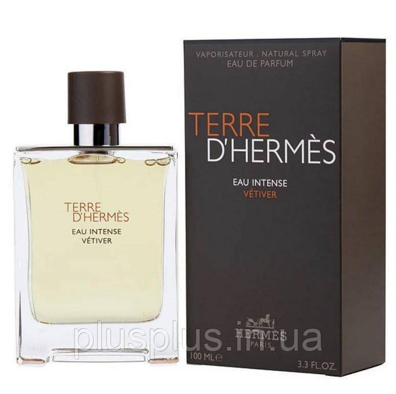 Парфюмированная вода  Terre D' Eau Intense Vetiver для мужчин  - edp 100 ml