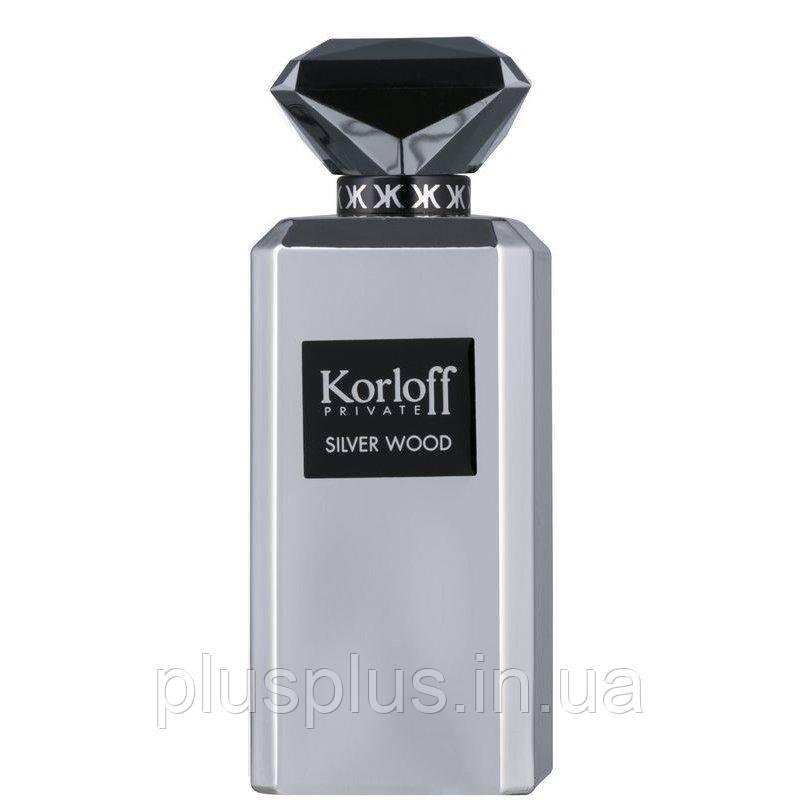 Парфюмированная вода Korloff Paris Private Silver Wood для мужчин  - edp 88 ml tester