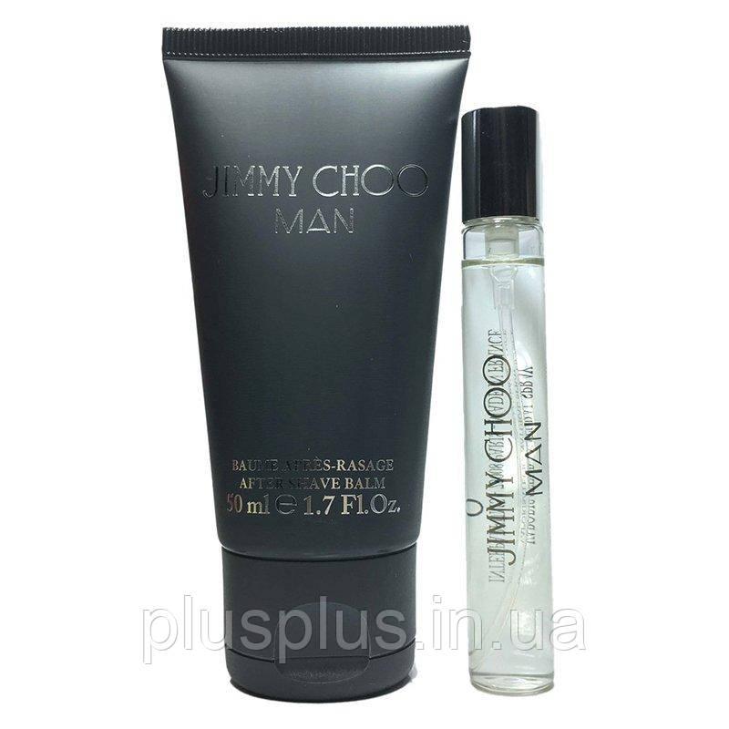 Набор Jimmy Choo Jimmy Choo Man для мужчин  - set (edt 7.5 ml mini + asb 50 ml)